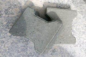 Бетонная тротуарная плитка «Катушка»
